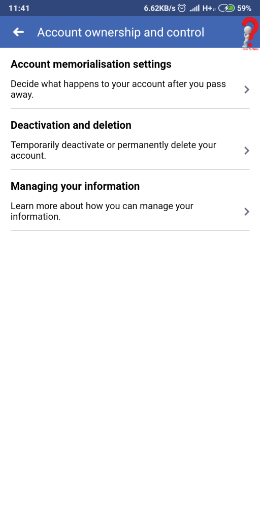 Delete Facebook Account On Phone