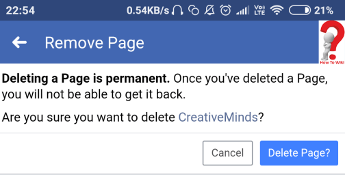 How To Delete Facebook Page [Complete Guide]