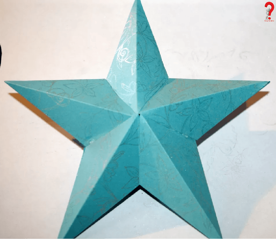 How To Create Large 3D Star Template