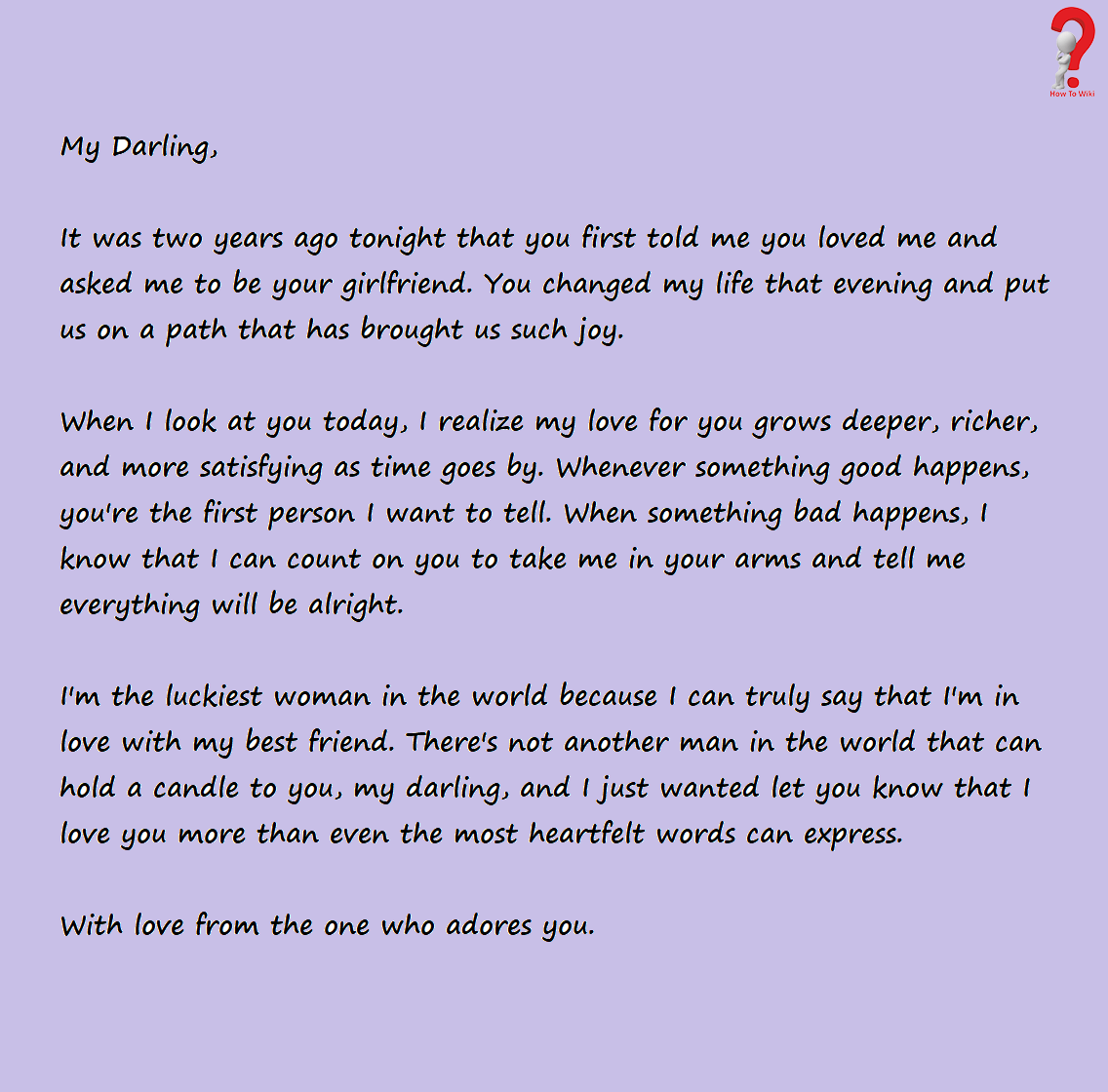 How To Write Love Letter For Boyfriend | How to Wiki