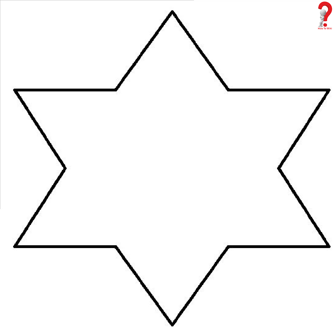 12 Inch Star Template
