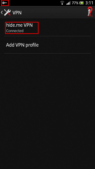 Setup VPN On Android Tablet