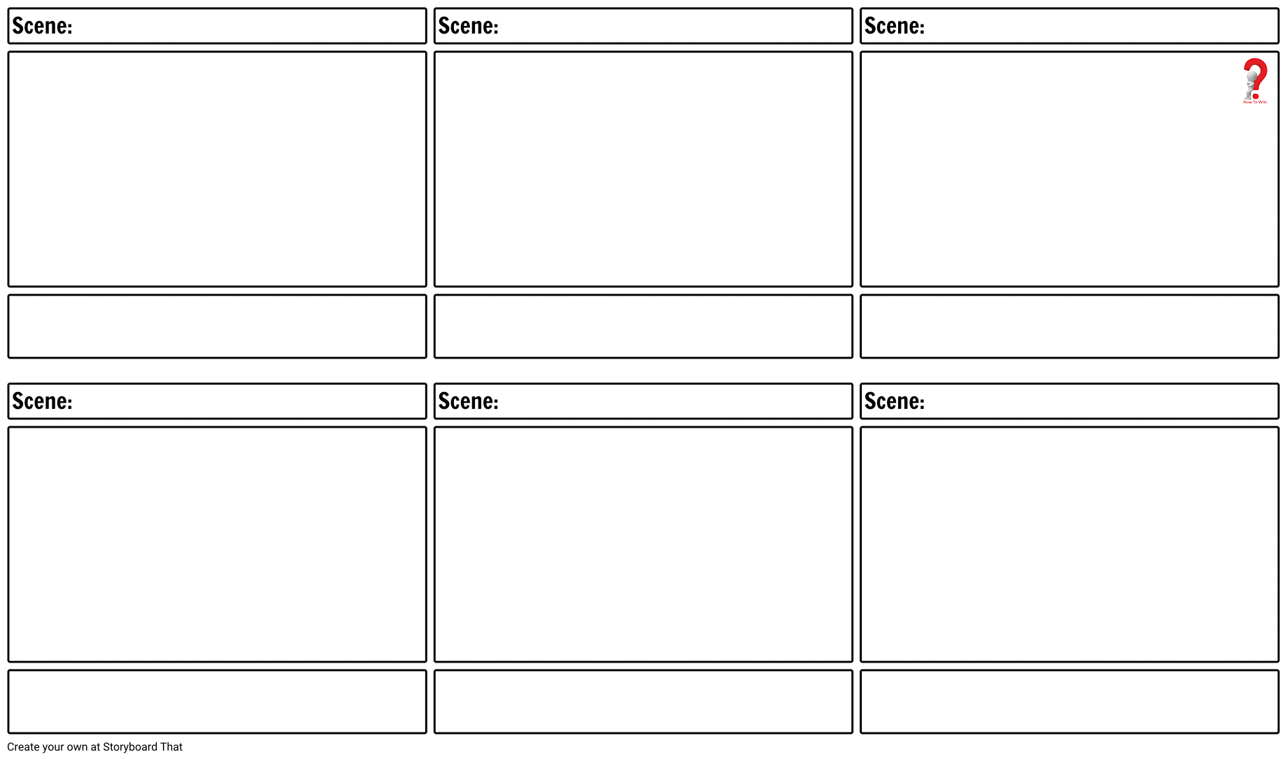 How to Make Storyboard Template in PDF & Word