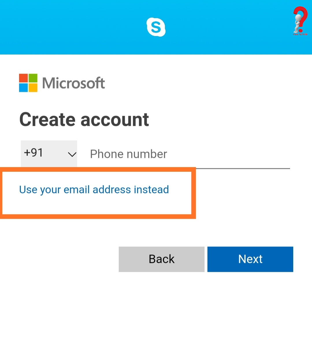 Create Skype Account Without Microsoft