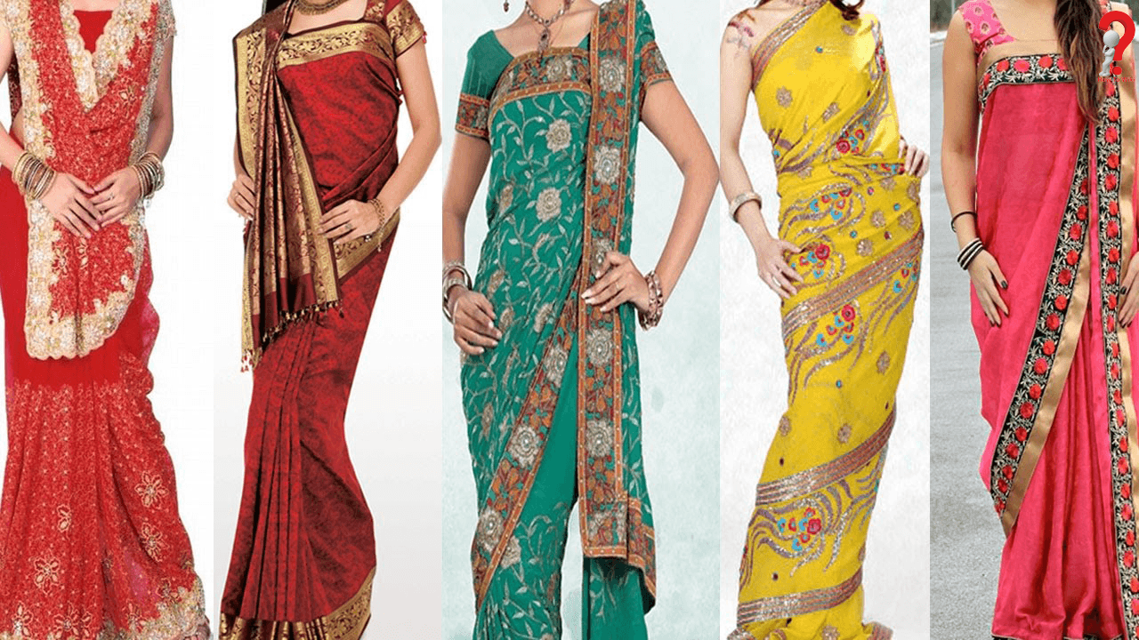 Steps to Wear Saree to Look Slim
