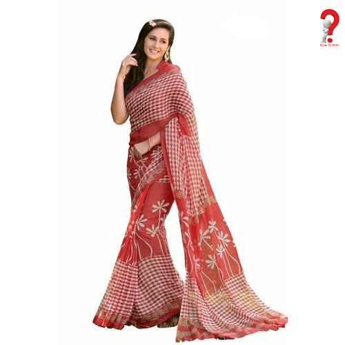 How to Wear Cotton Saree