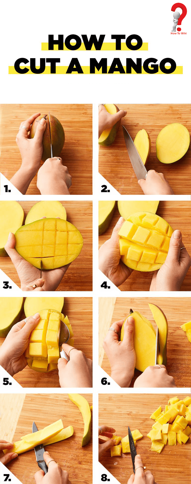 Mango cutting techniques