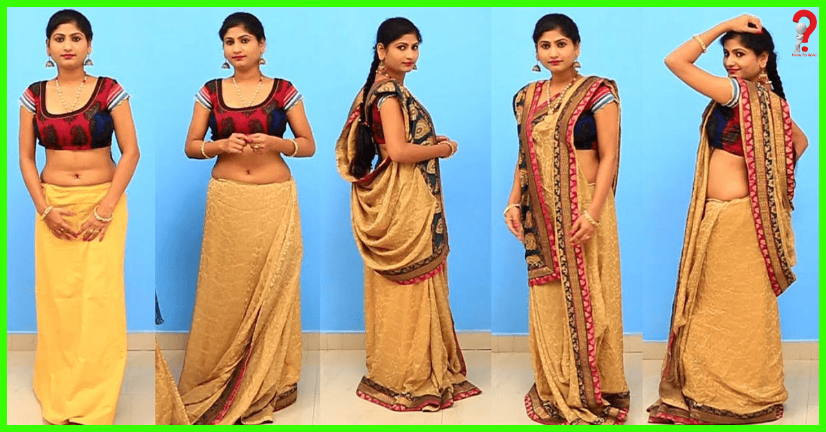 Wear the Saree with Pleats