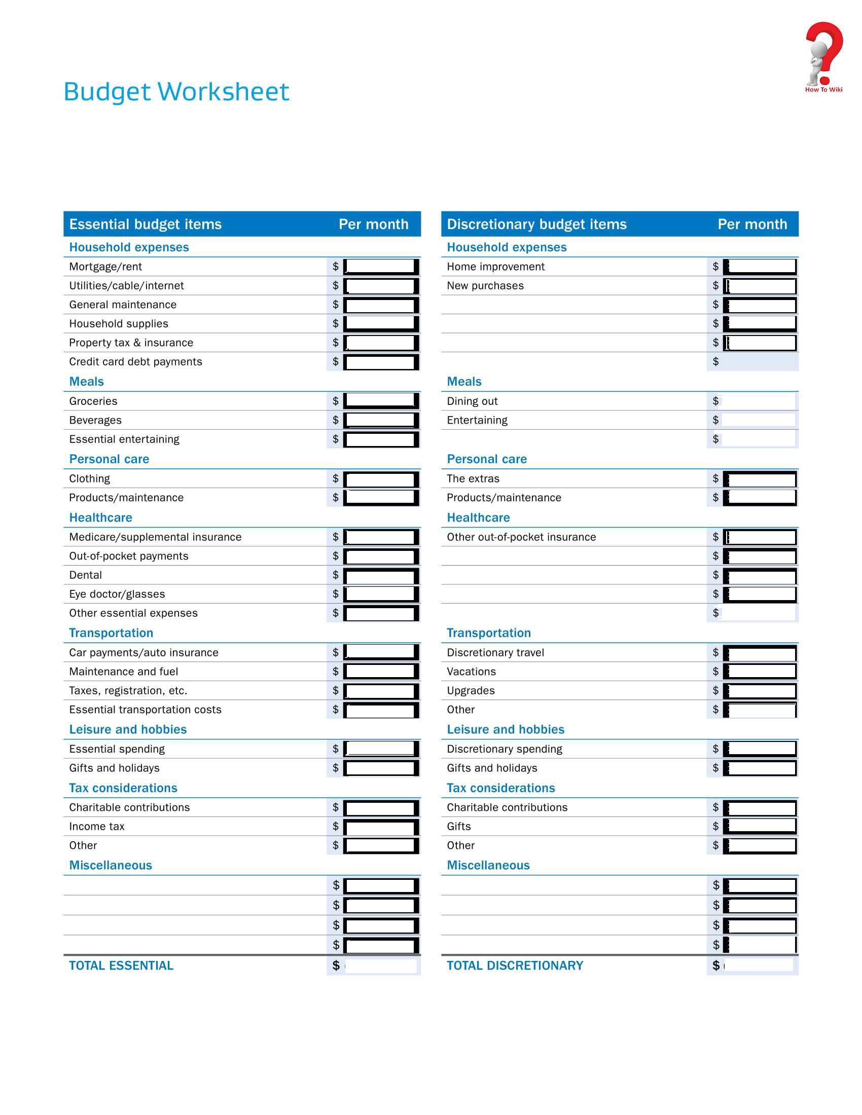 business monthly planner template
