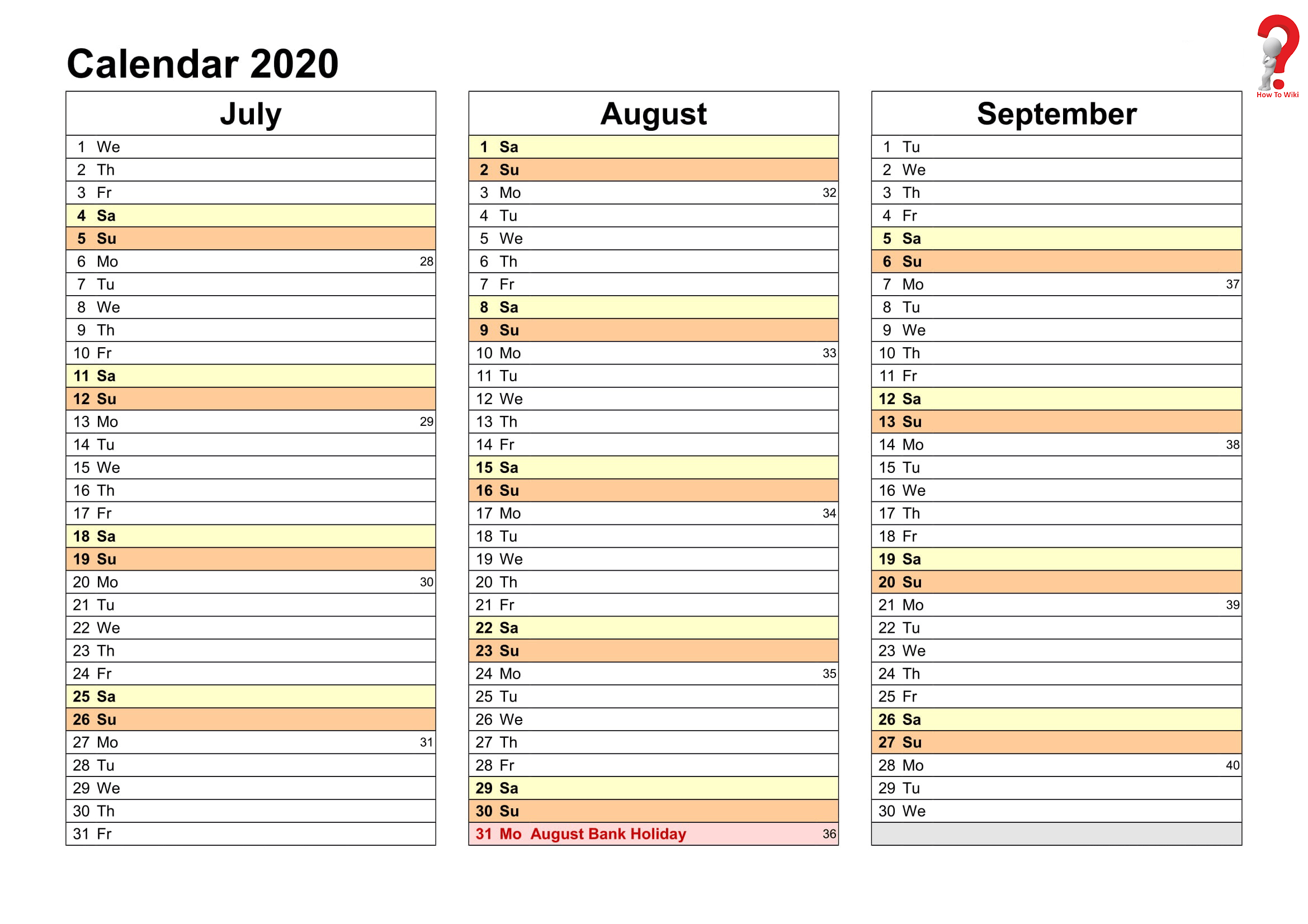 Printable Yearly Planner