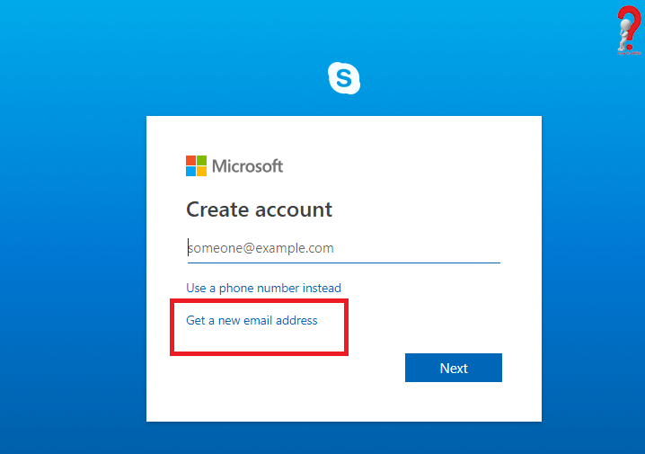 Way To Create Skype Account