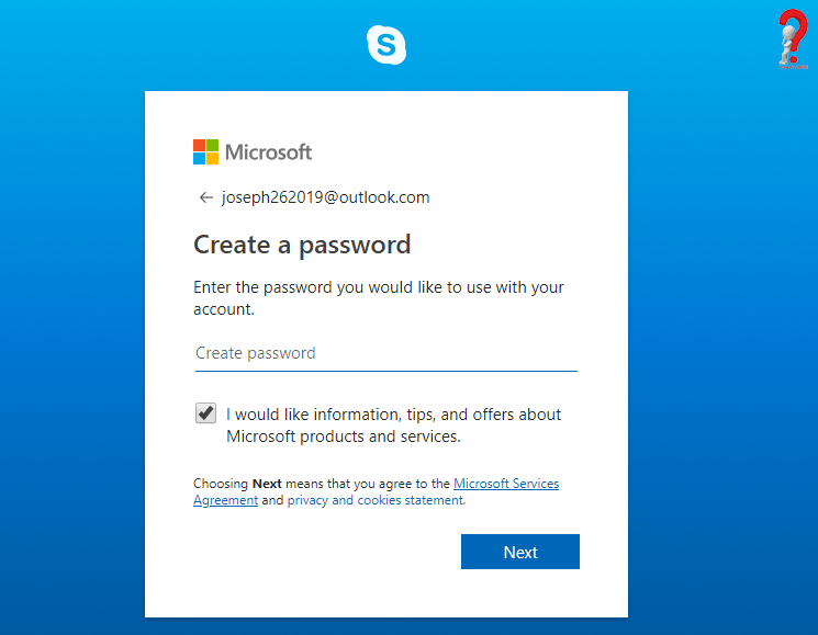 Create Skype Account