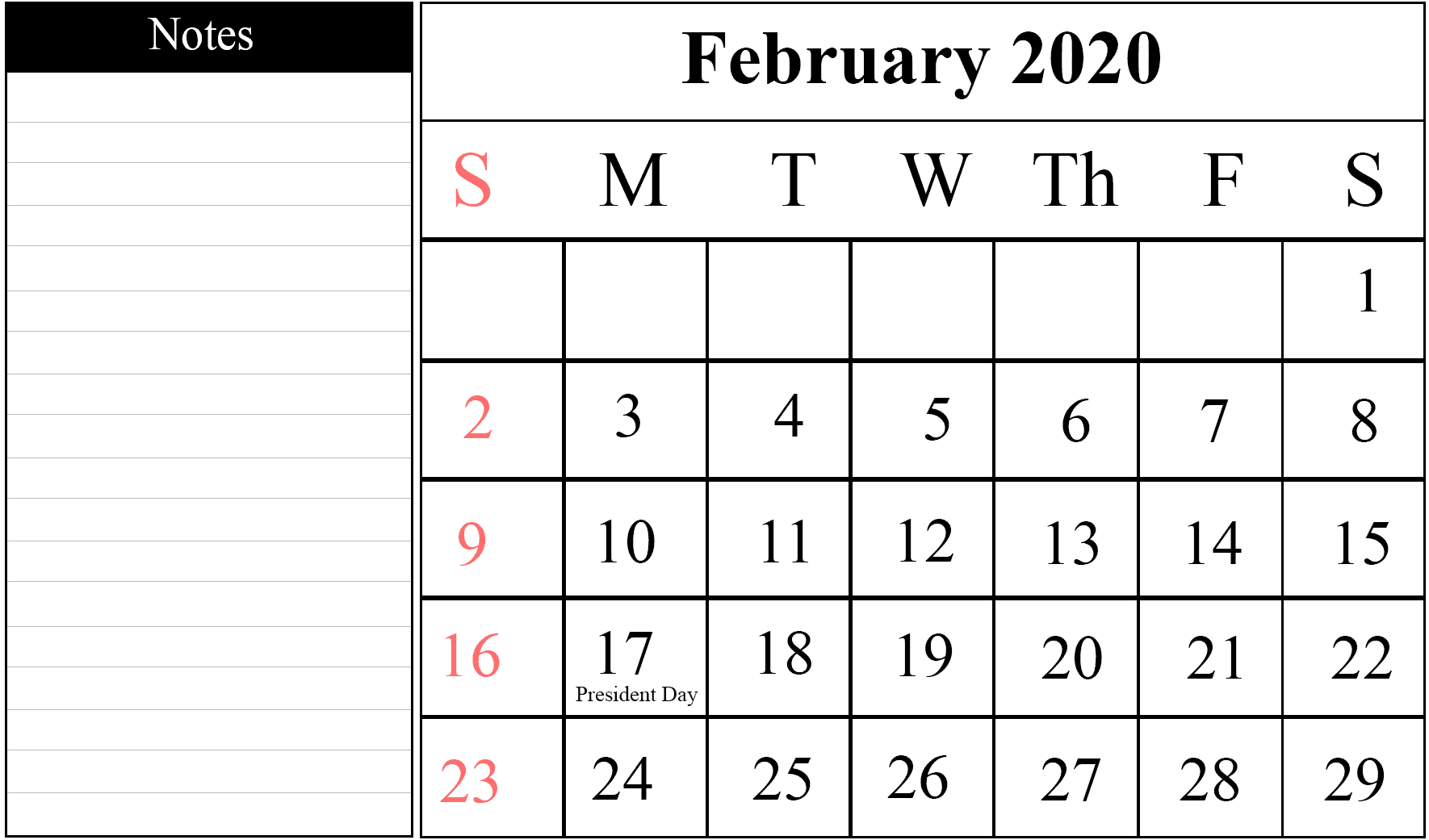 How to Schedule your month