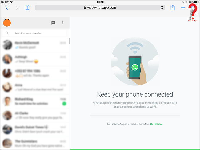 Whatsapp For Ipad With