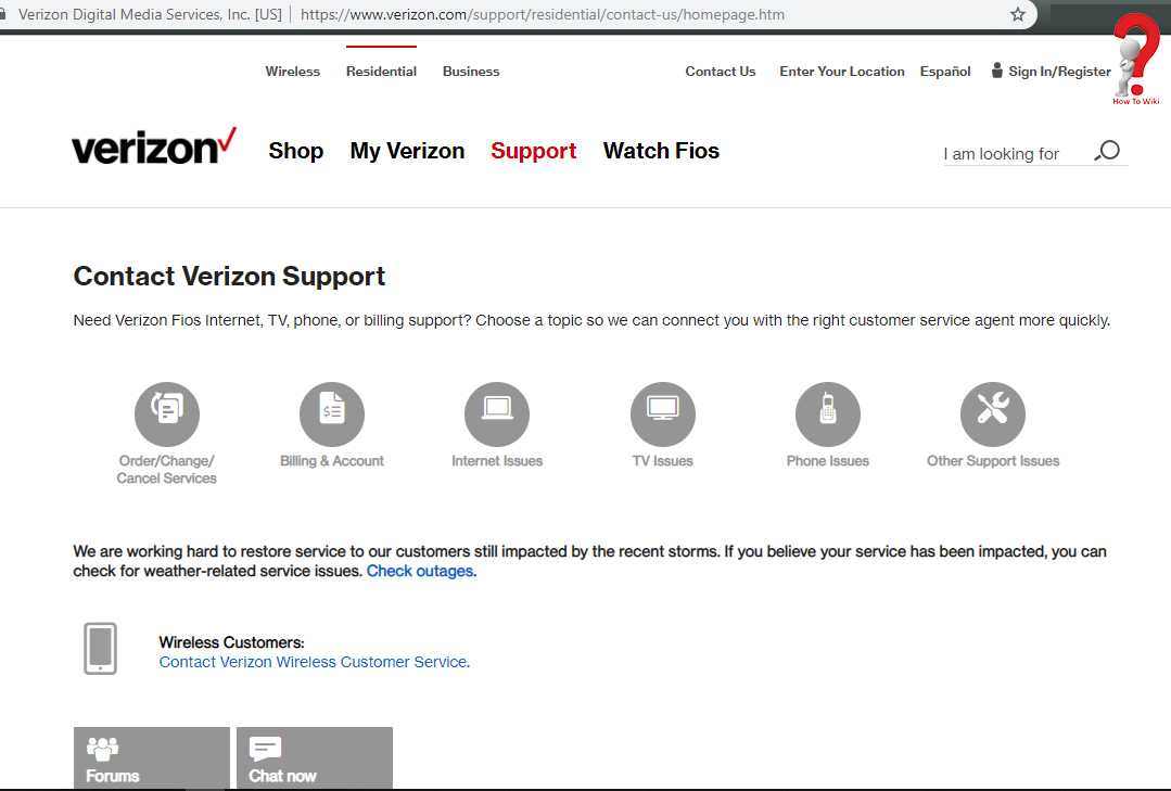 How To Contact Verizon Wireless Customer Service | How to Wiki
