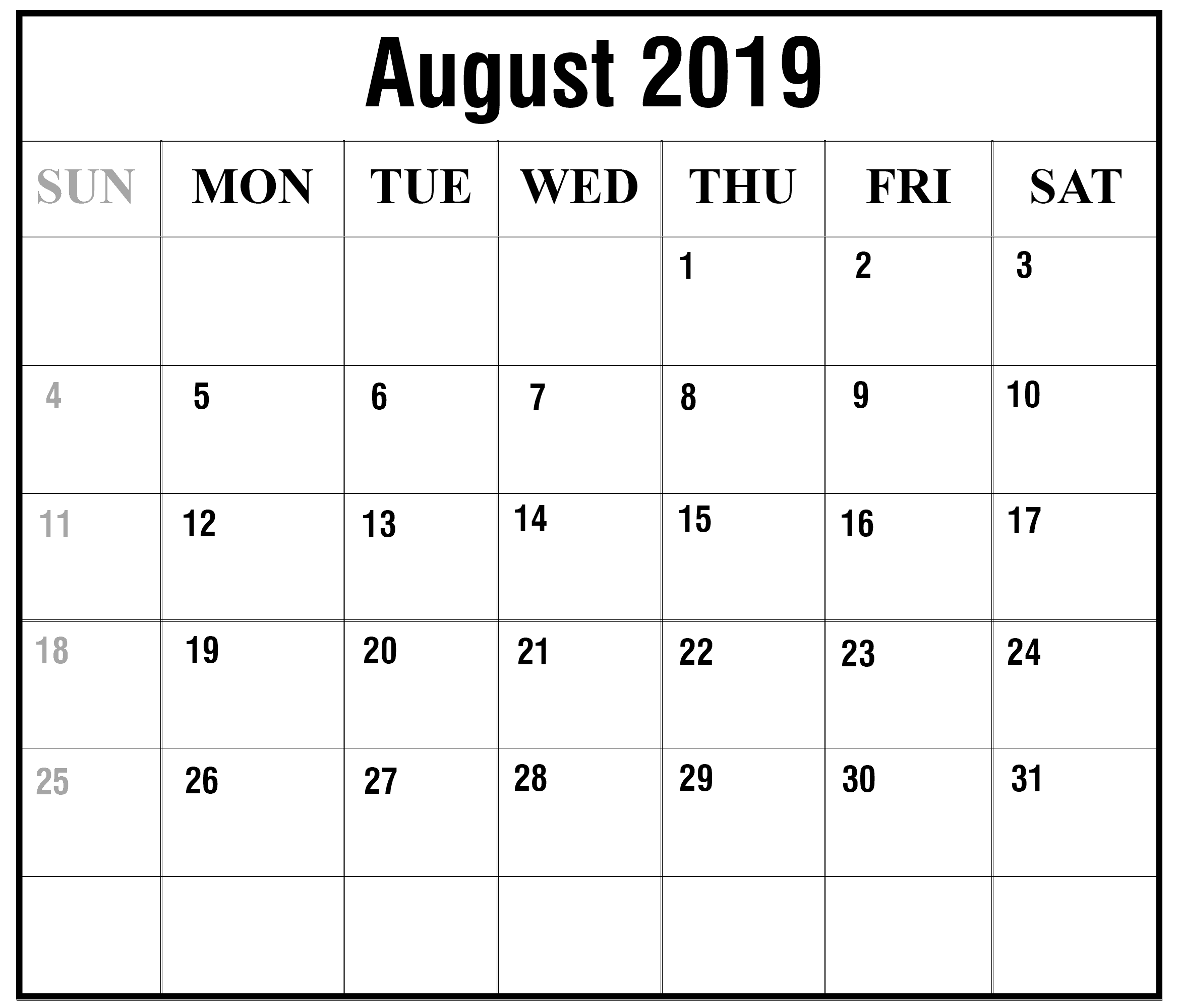 This is a graphic of Dashing August Printable Calendars