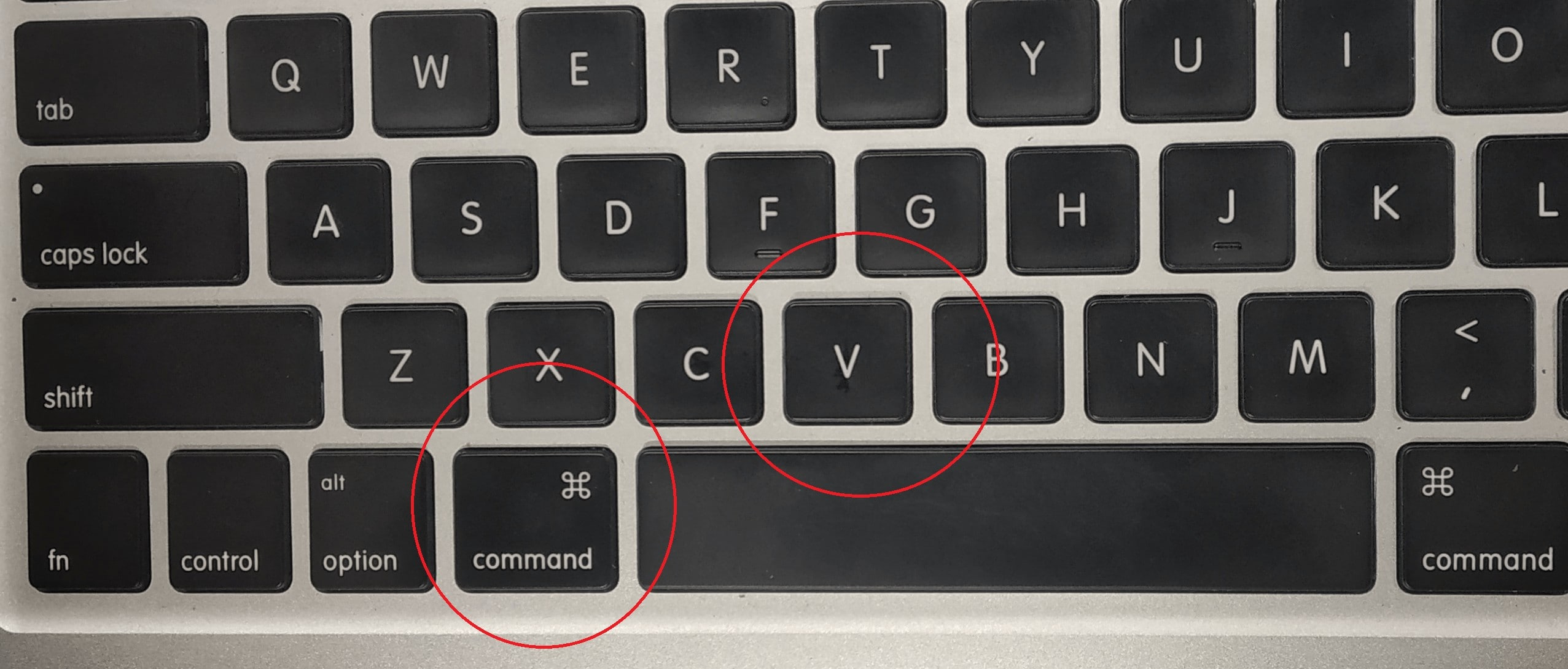 How To Paste On A Macbook