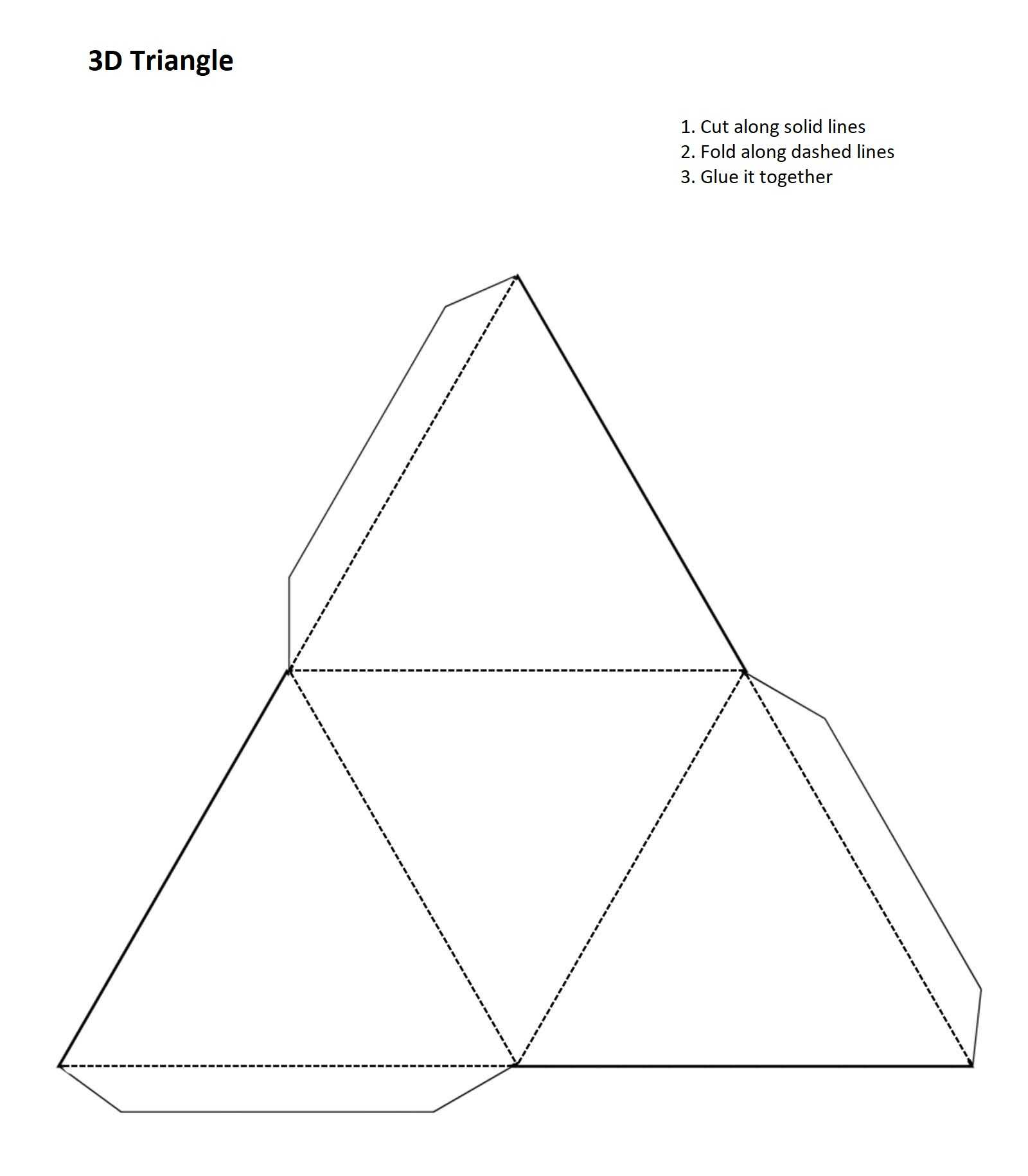 Triangle 3D Template