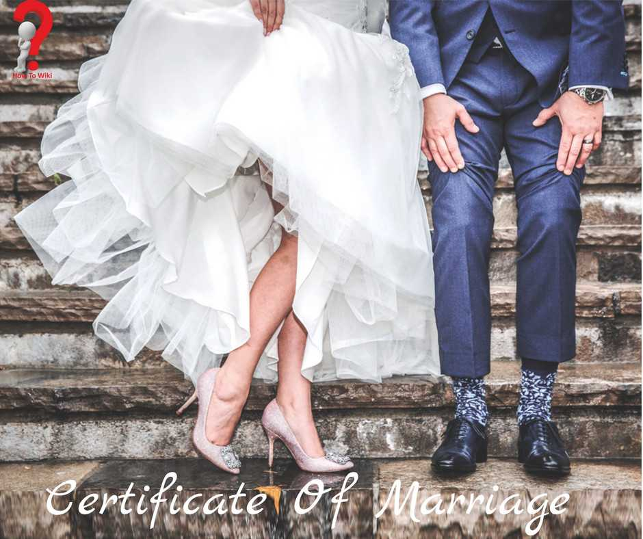 5+ Printable Certificate Of Marriage Templates
