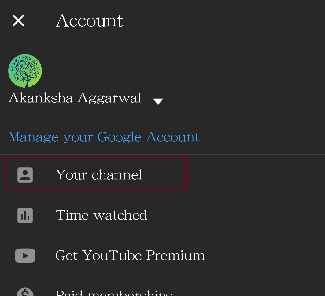 Change YouTube Username