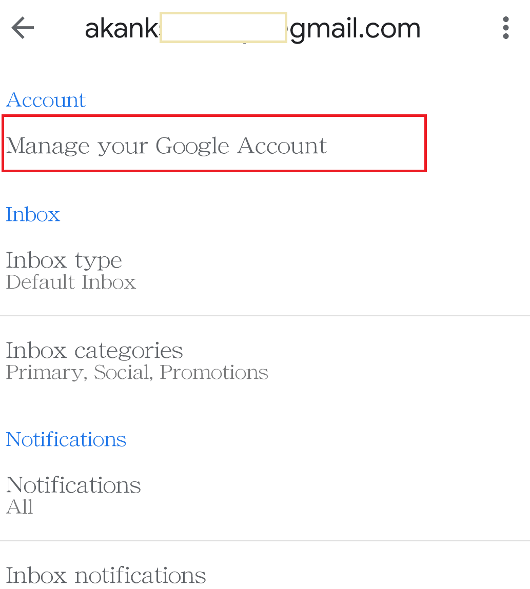 How To Change Gmail Name