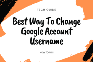 Change Google Account Name