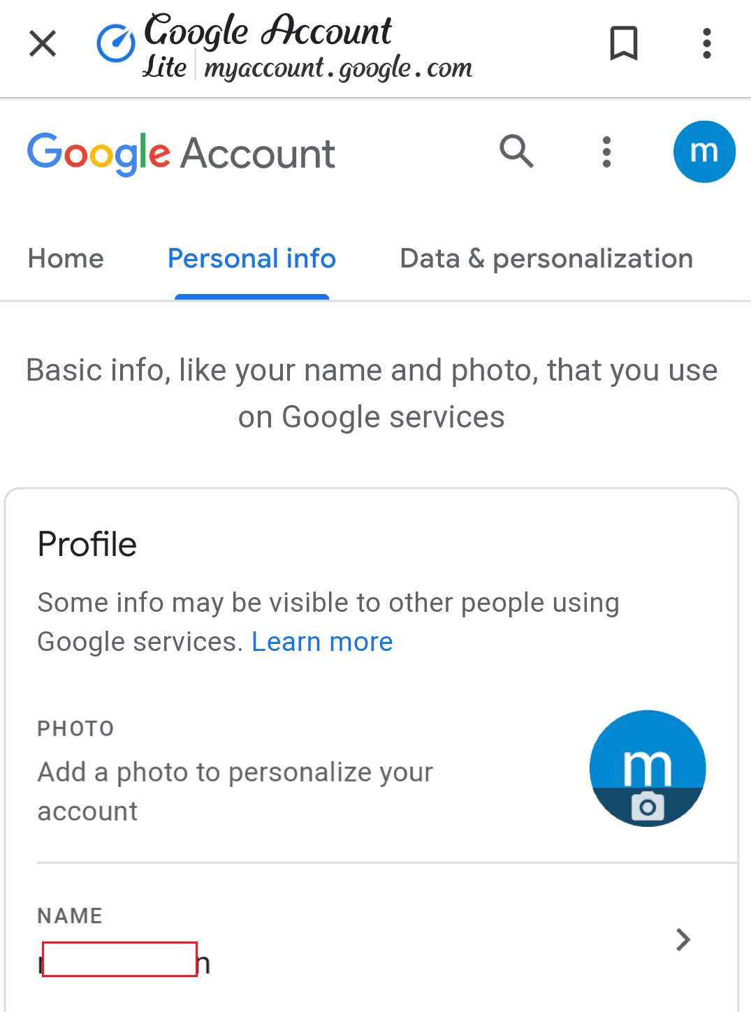 Change Google Username On Android
