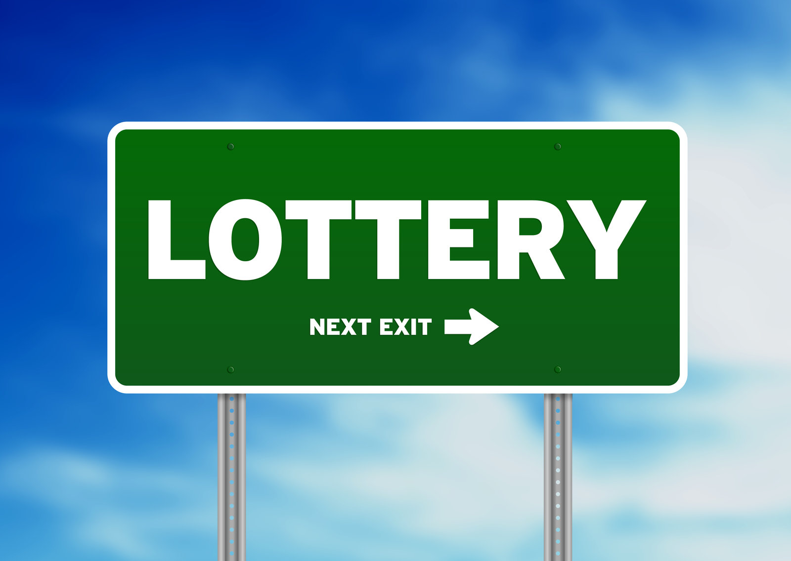 Lottery sign